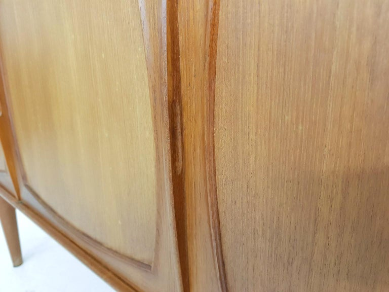 Adolf Relling and Rolf Rastad for Bahus Teak Credenza or Sideboard, Norway 1960s 1