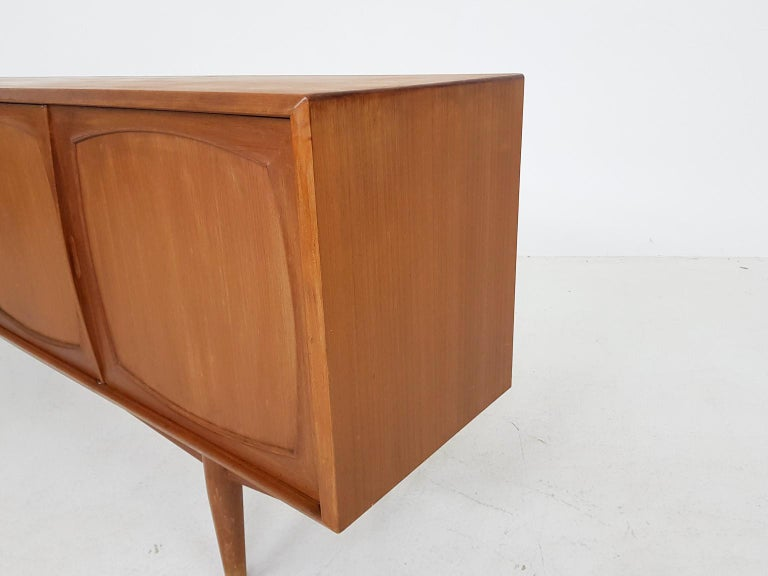 Adolf Relling and Rolf Rastad for Bahus Teak Credenza or Sideboard, Norway 1960s 2