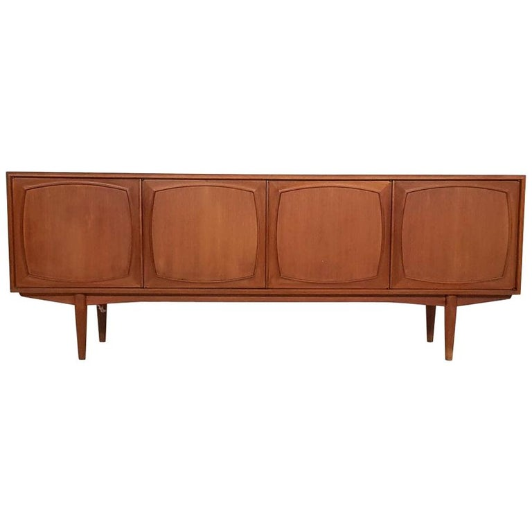 Adolf Relling and Rolf Rastad for Bahus Teak Credenza or Sideboard, Norway 1960s