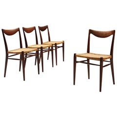 Adolf Relling and Rolf Rastad Set of 'Bambi' Dining Chairs