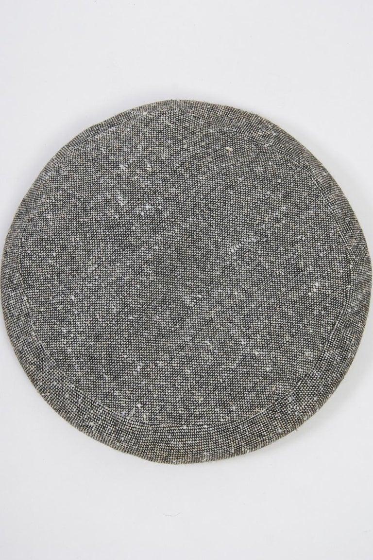 Adolfo Black/White Tweed Beret, c.1970 For Sale 3