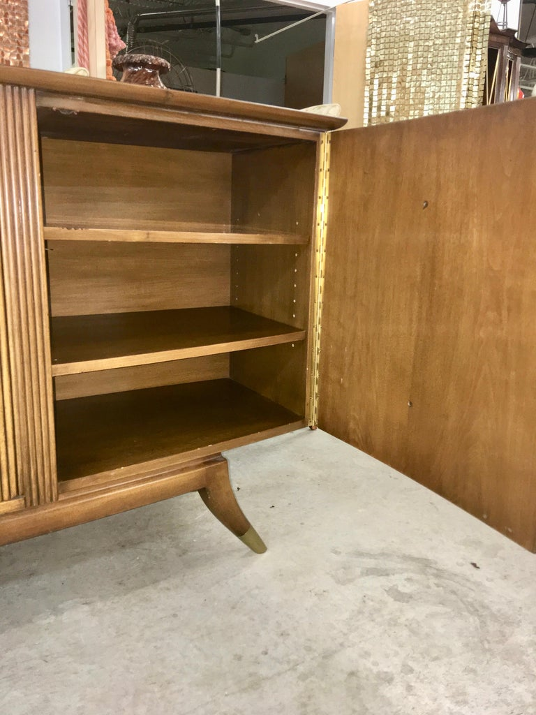 Adolfo Genovese Walnut Buffet Sideboard For Sale 3