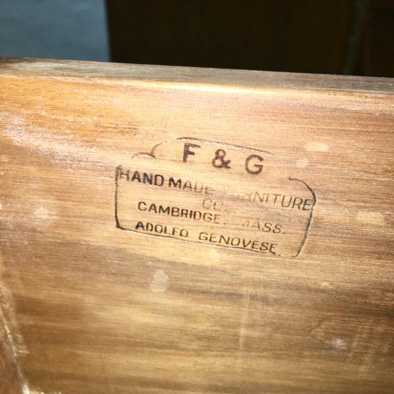 Adolfo Genovese Walnut Buffet Sideboard For Sale 5