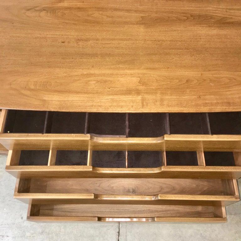 Adolfo Genovese Walnut Buffet Sideboard For Sale 6