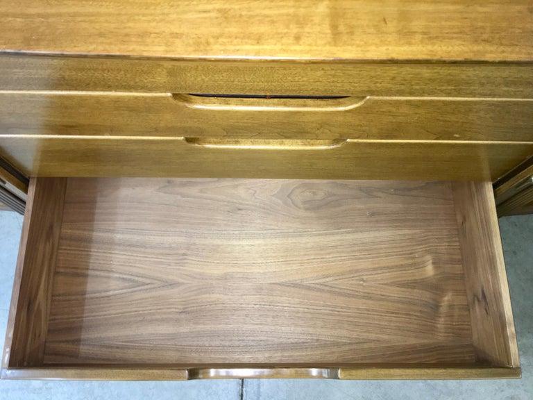 Adolfo Genovese Walnut Buffet Sideboard For Sale 9