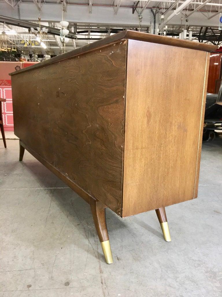 Adolfo Genovese Walnut Buffet Sideboard For Sale 12