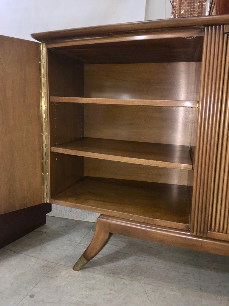 Adolfo Genovese Walnut Buffet Sideboard For Sale 2