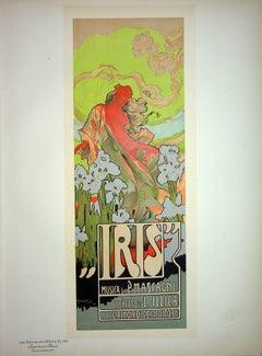 Iris, Comic Opera - Original Lithograph (Les Maîtres de l'Affiche), 1899