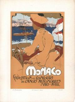 Monaco - 1900s - Adolfo Hohenstein - Print - Modern