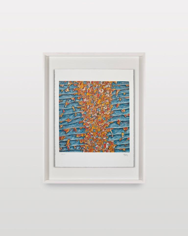 Migramar - Contemporary Print by Adolfo Nigro