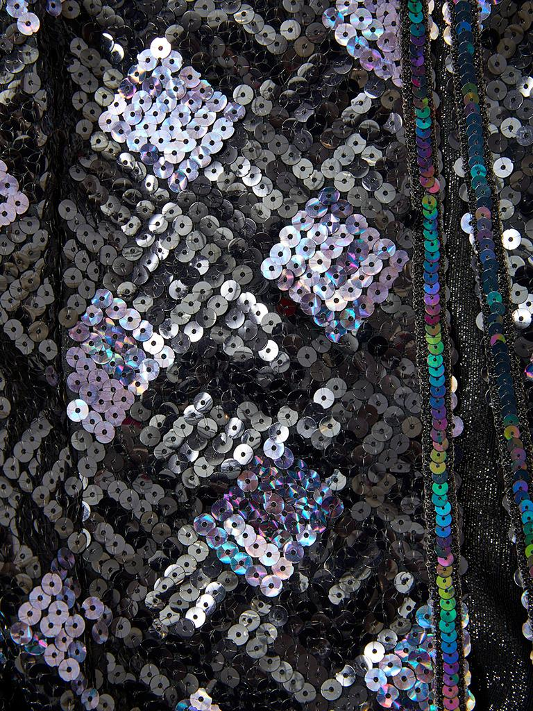 Women's Adolfo Sequined Dinner Suit For Sale