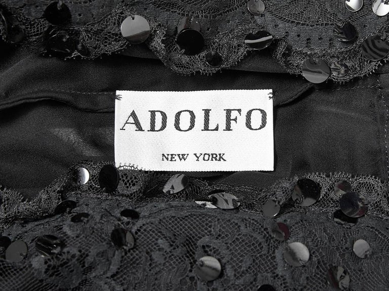 Adolfo Sequined Dinner Suit For Sale 2