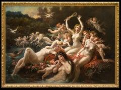 Sirènes Lutinées par les Amours