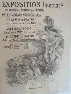 """""""Exposition Internationale des Produits du Commerce et de l'Industrie"""" Maitre"""