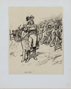 """VALMY! (L'Estampe Moderne),"" Print after Drawing by Adolphe Willette"