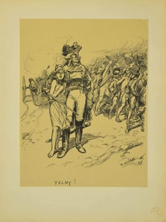 Valmy - Original Lithograph by Adolphe Willette - 1899