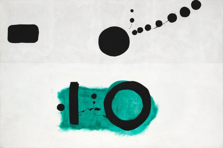 Adolph Gottlieb Abstract Painting - Azimuth
