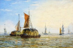 Thames Barges (Pair)