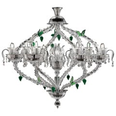 Adonis 7360 13 Chandelier in Glass, by Marcel Wanders from Barovier&Toso