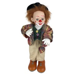 Adorable and Therapeutic Musical Clown Automaton Figure/Toy