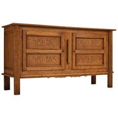 Adorned Art Deco Sideboard in Oak