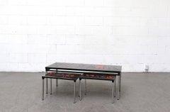 Adri 70's Tile Coffee Table Set
