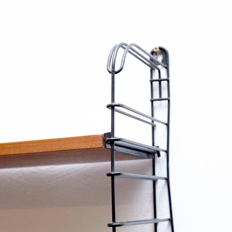 Dutch Adriaan Dekker for Tomado Modular Wall Hanging Shelves, 1958 For Sale