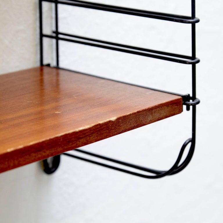 Mid-20th Century Adriaan Dekker for Tomado Modular Wall Hanging Shelves, 1958 For Sale