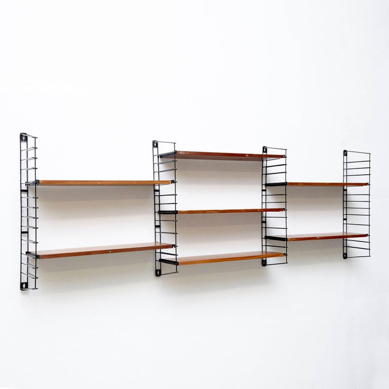 Modular shelves designed by Adriaan D. Dekker in 1958.