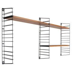 Adriaan Dekker for Tomado Two Modular Wall Hanging Shelves, 1958