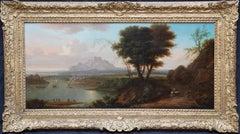 Italian Landscape - Dutch Old Master art Grand Tour landscape oil painting
