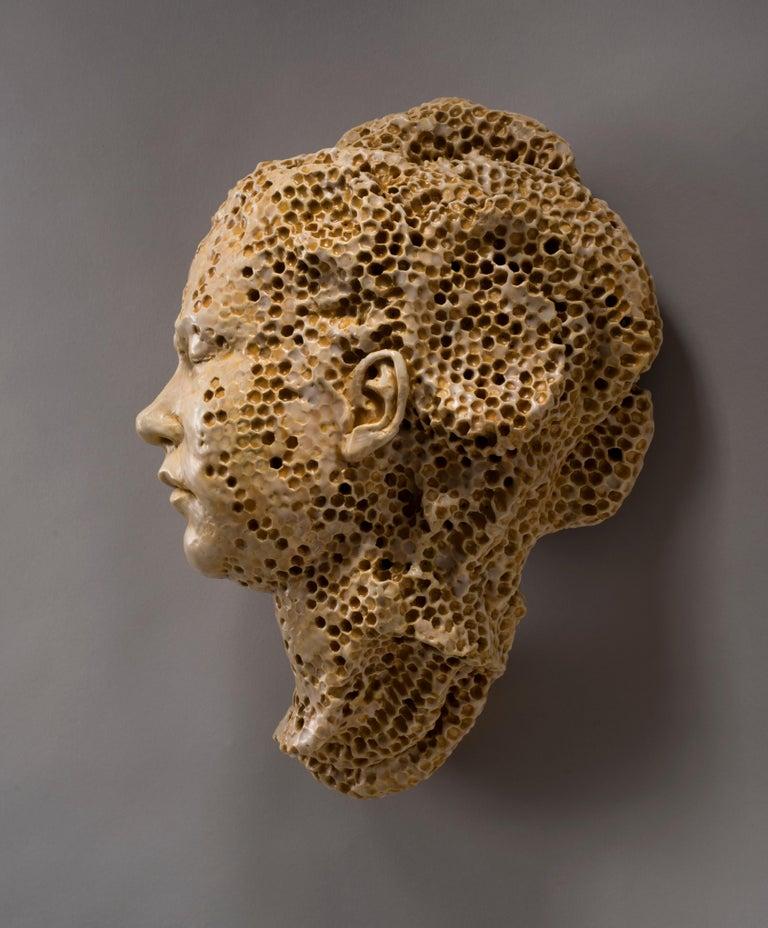 Greta - Sculpture by Adrian Arleo