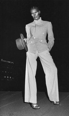 Grace Jones Posing Vintage Original Photograph