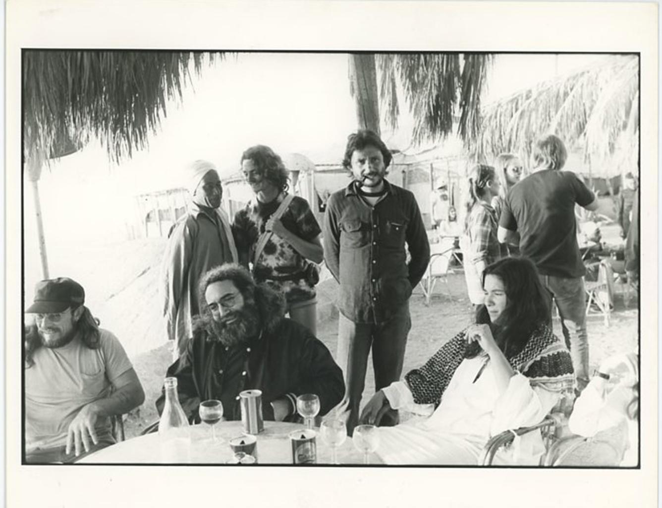 Grateful Dead & Band Manager Richard Loren Egypt 1978