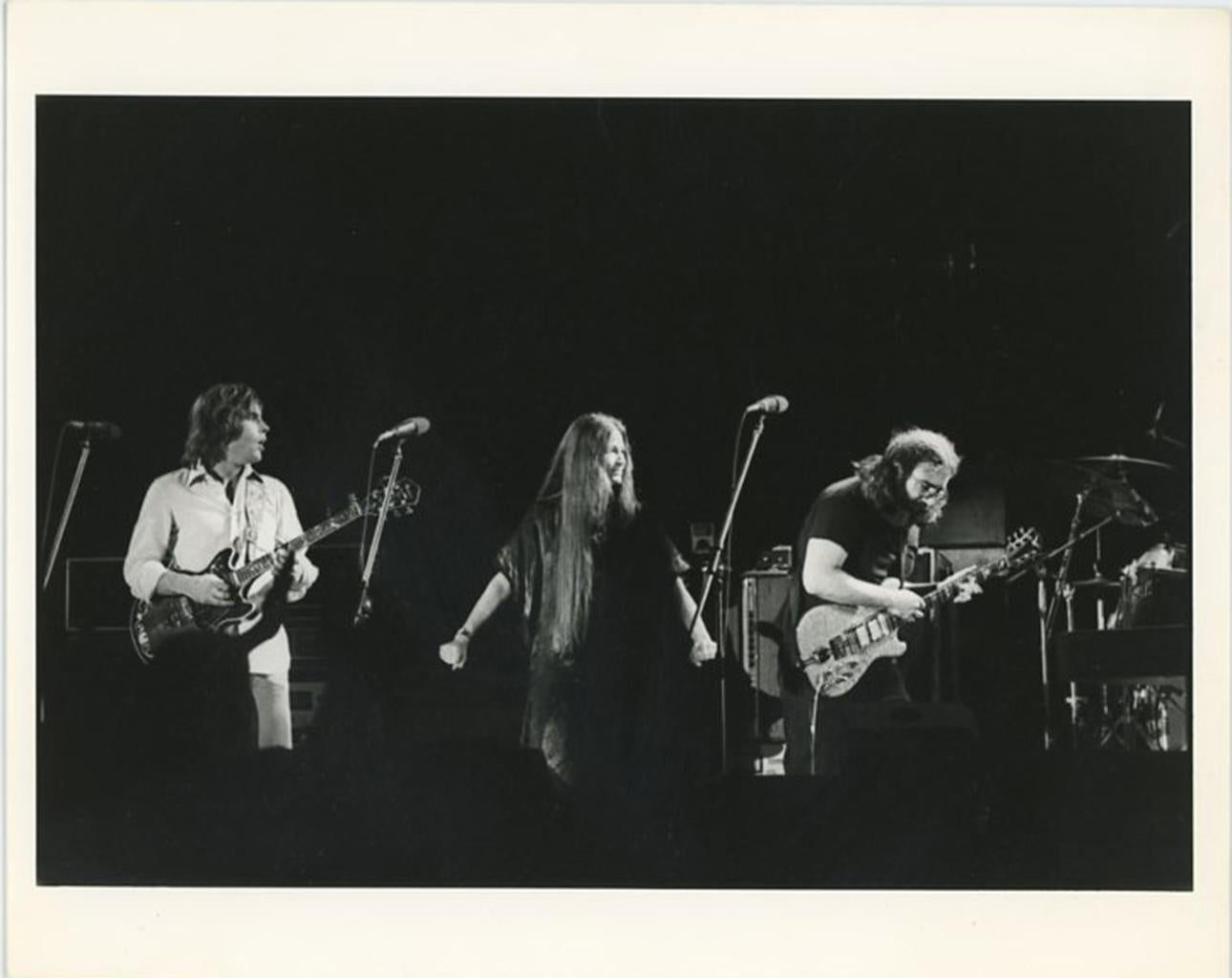 Grateful Dead Performing in Egypt 1978