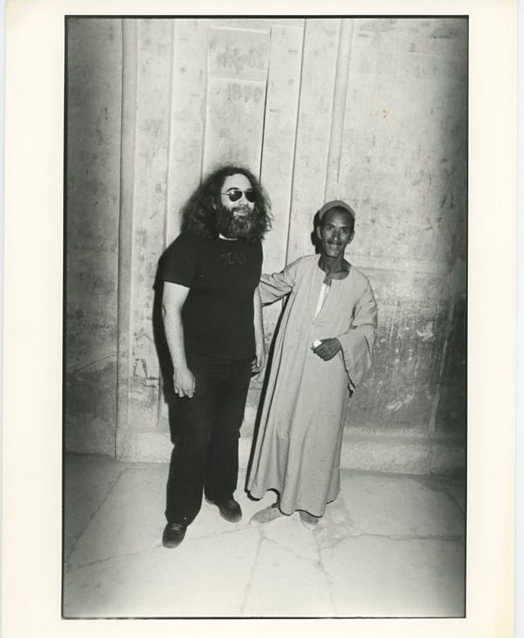 Jerry Garcia in Egypt 1978