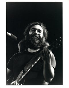 Jerry Garcia Performing in Egypt Vintage Original Photograph