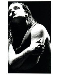 Stunning Bono High Contrast Vintage Original Photograph