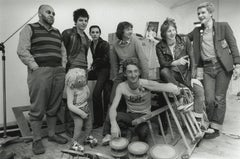 The Damned, Lol Coxhill, and Pink Floyd Vintage Original Photograph