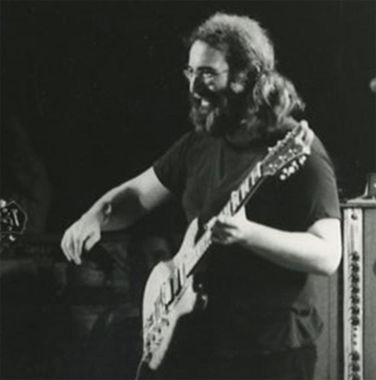The Grateful Dead Jerry Garcia Egypt 1978 - Modern Photograph by Adrian Boot