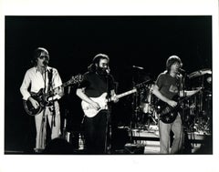 The Grateful Dead Performing in Egypt Vintage Original Photograph