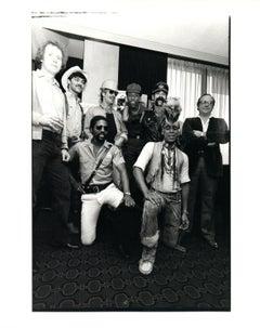 The Village People Backstage Vintage Original Photograph