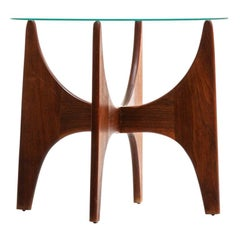 Adrian Pearsall 1924-T24 Walnut Side Table for Craft Associates