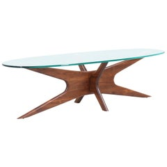 Adrian Pearsall 893-TGO Coffee Table for Craft Associates