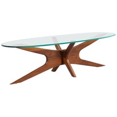Adrian Pearsall 893-TGO Sculpted Coffee Table for Craft Associates