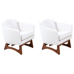Adrian Pearsall Barrel Lounge Chairs for Craft Associates