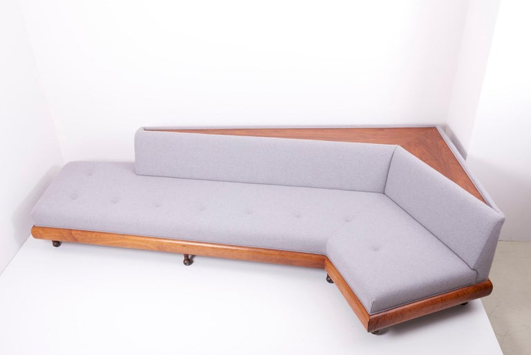 Adrian Pearsall 'Boomerang' Sofa for Crafts Associates, US, 1960s For Sale 5