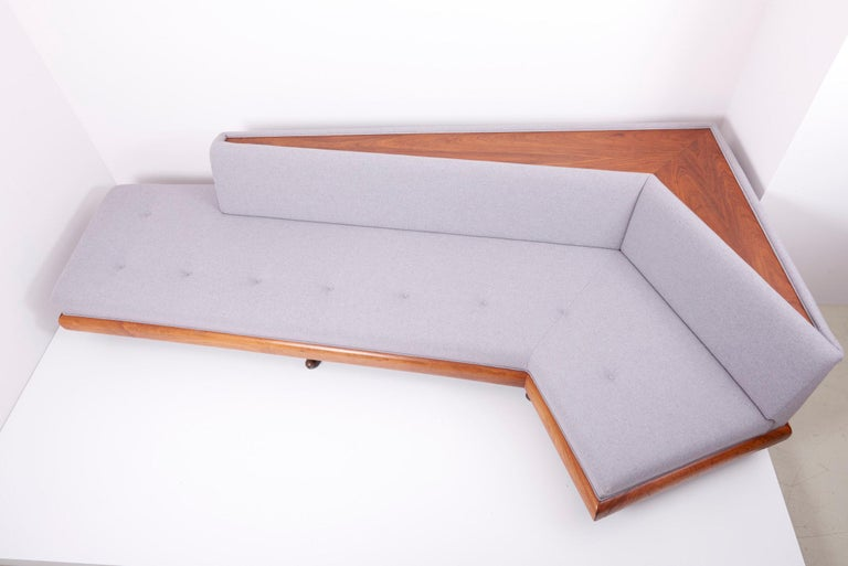 Adrian Pearsall 'Boomerang' Sofa for Crafts Associates, US, 1960s For Sale 7