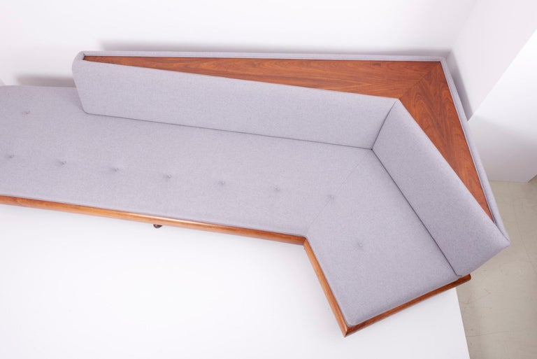 Adrian Pearsall 'Boomerang' Sofa for Crafts Associates, US, 1960s For Sale 8