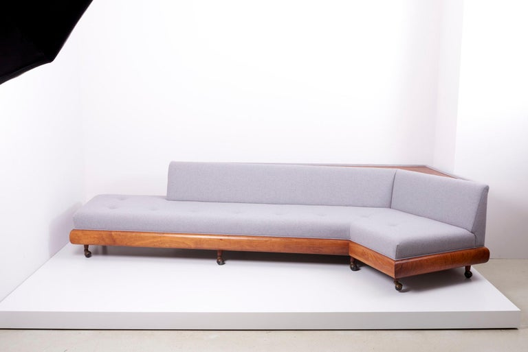 Mid-Century Modern Adrian Pearsall 'Boomerang' Sofa for Crafts Associates, US, 1960s For Sale